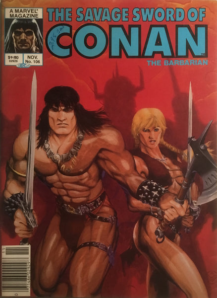 THE SAVAGE SWORD OF CONAN #106