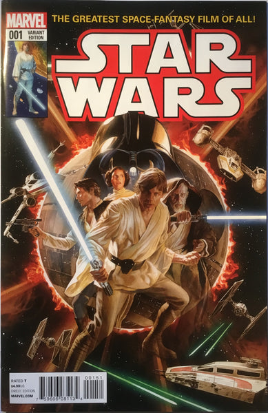 STAR WARS (2015-2020) # 1 ALEX ROSS 1:50 VARIANT COVER