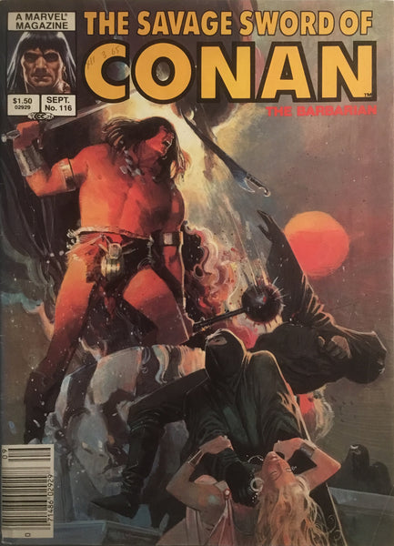 THE SAVAGE SWORD OF CONAN #116