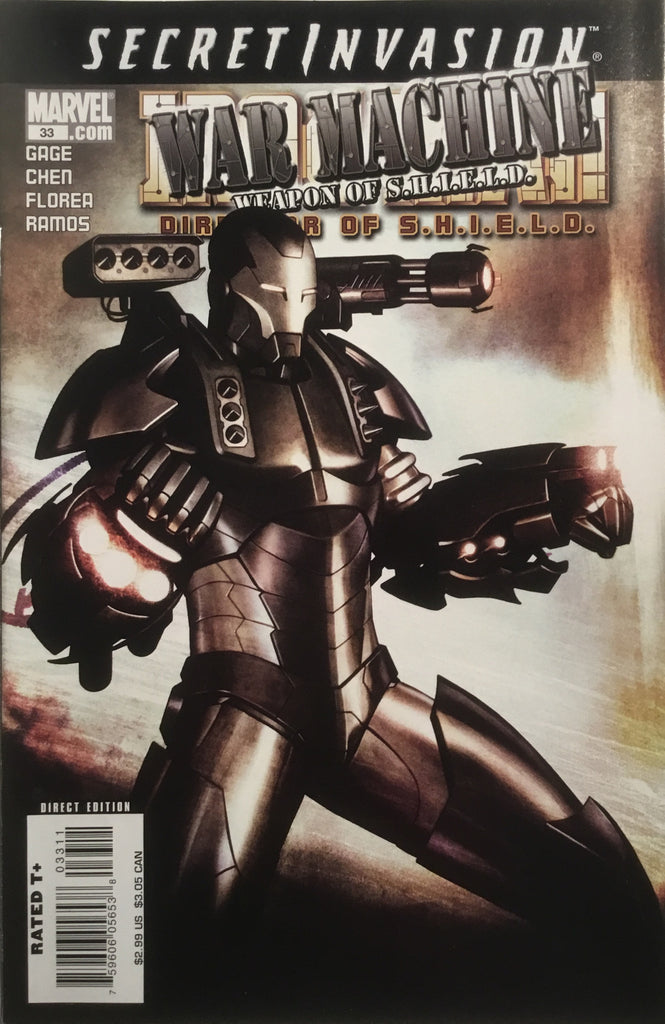 INVINCIBLE IRON MAN (VOL 4) DIRECTOR OF S.H.I.E.L.D. # 33 - Comics 'R' Us