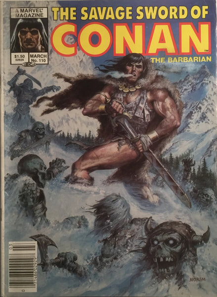 THE SAVAGE SWORD OF CONAN #110