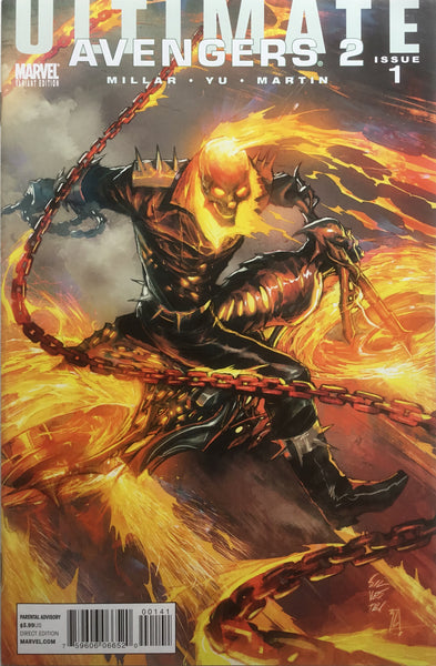 ULTIMATE AVENGERS 2 # 1 GHOST RIDER VILLAIN COVER (1:15 VARIANT)