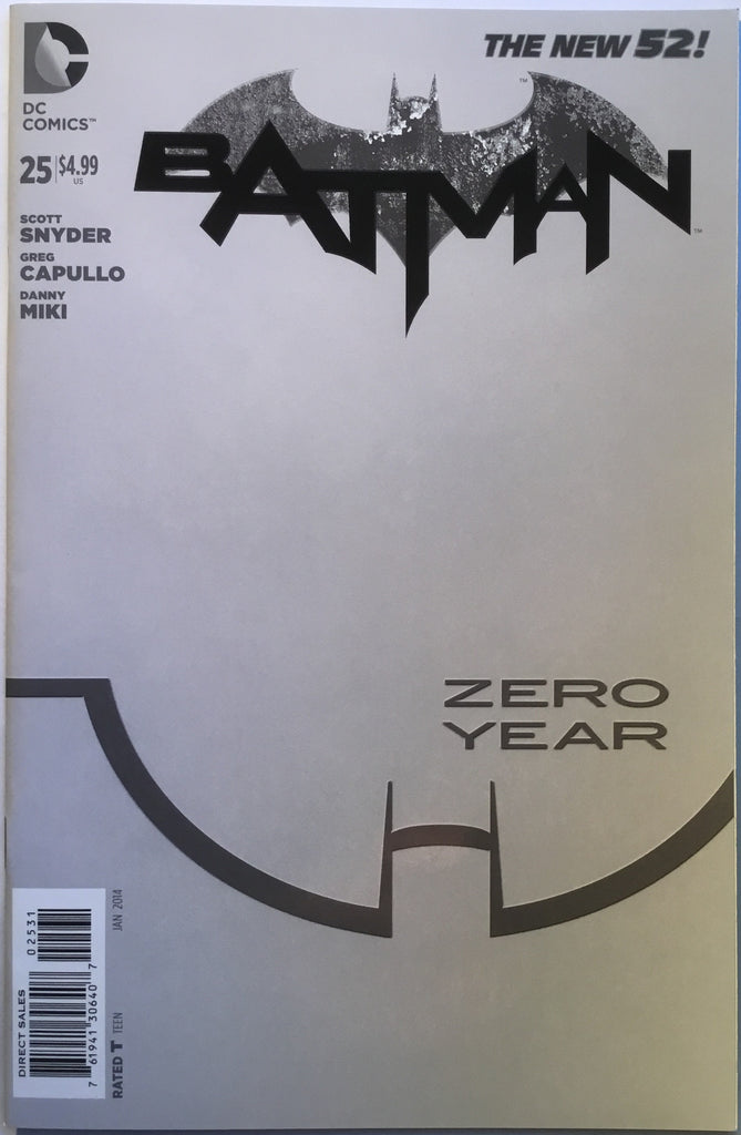 BATMAN #25 (THE NEW 52) BLACK AND WHITE 1:100 VARIANT - Comics 'R' Us