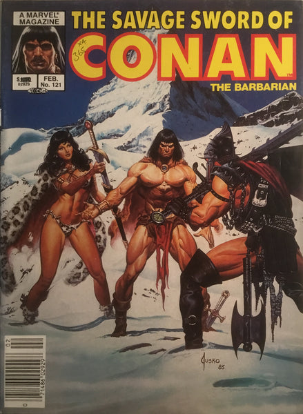THE SAVAGE SWORD OF CONAN #121