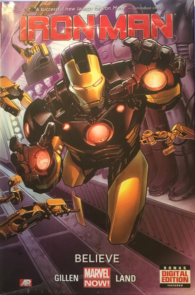 IRON MAN (2012) VOL 1 BELIEVE HARDCOVER GRAPHIC NOVEL - Comics 'R' Us
