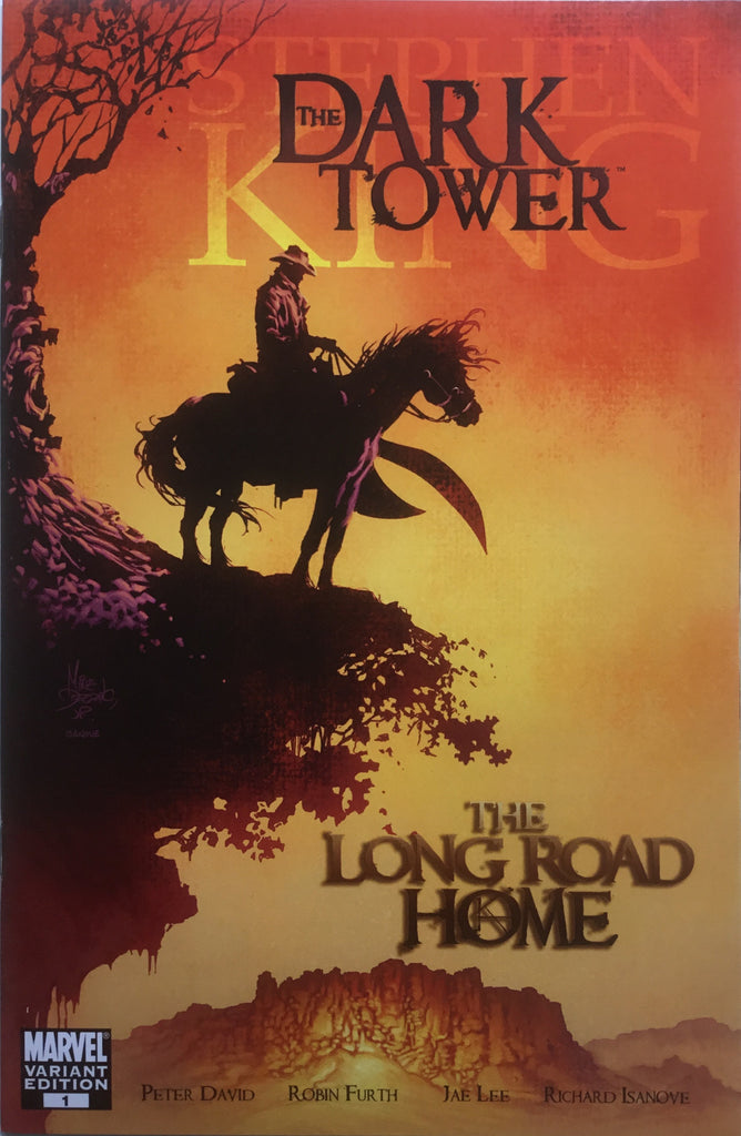 DARK TOWER (STEPHEN KING) THE LONG ROAD HOME # 1 DEODATO COVER (1:25 VARIANT)