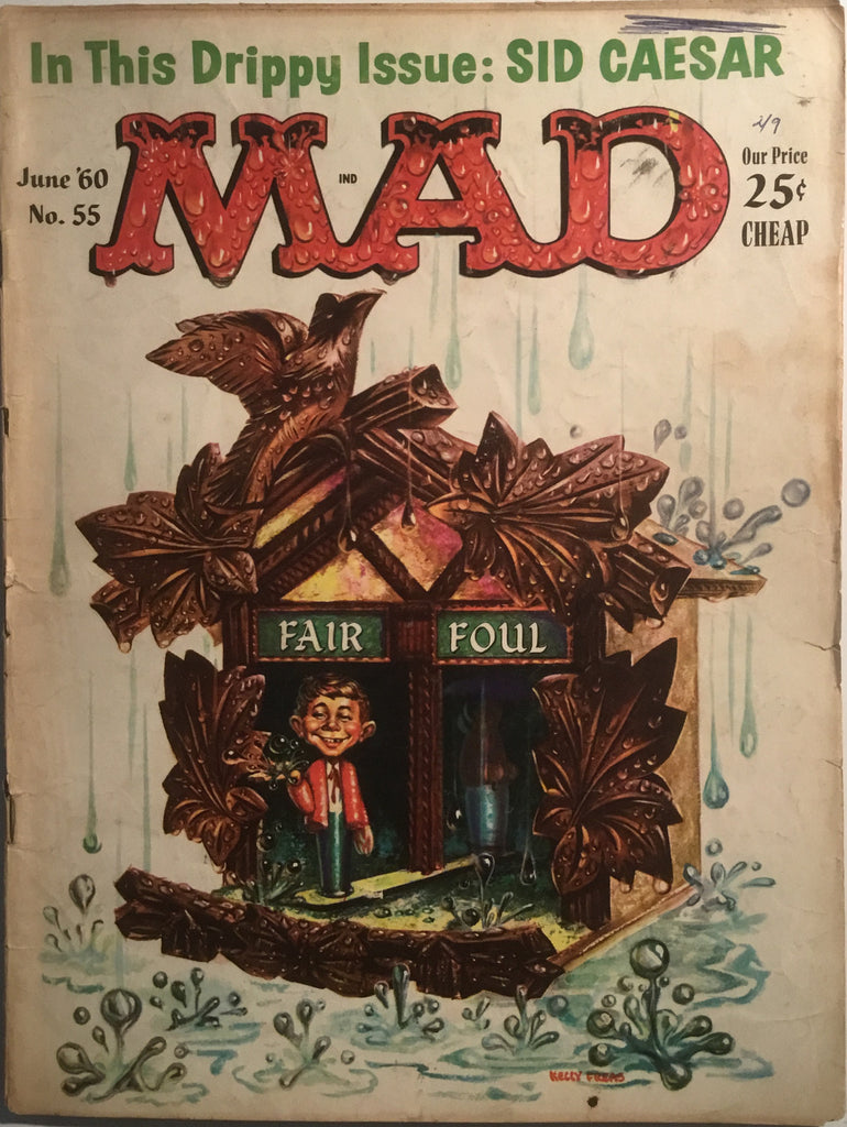MAD MAGAZINE (USA) # 55