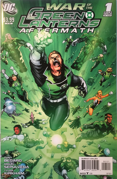 WAR OF THE GREEN LANTERNS AFTERMATH # 1 (1:10 VARIANT)