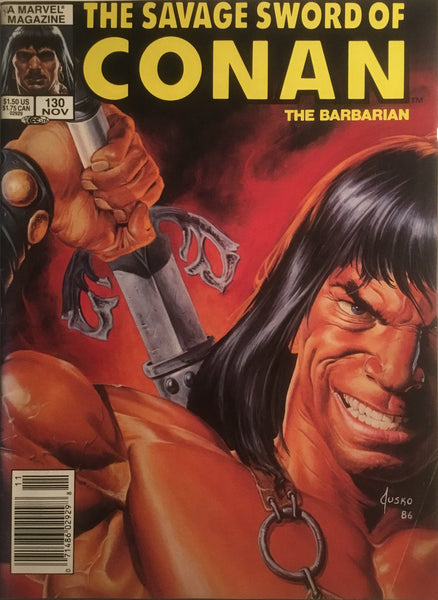 THE SAVAGE SWORD OF CONAN #130