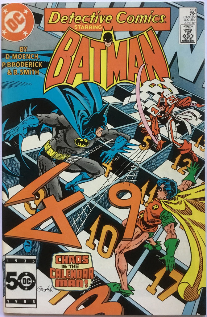 DETECTIVE COMICS starring BATMAN # 551 - Comics 'R' Us
