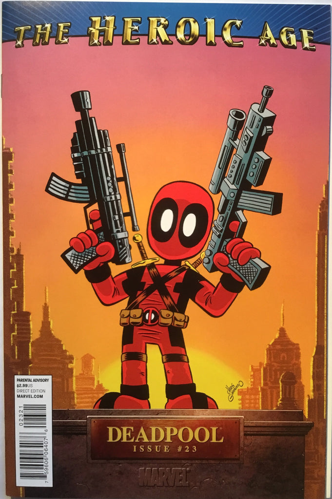 DEADPOOL # 23 (2010) 1:15 VARIANT - Comics 'R' Us