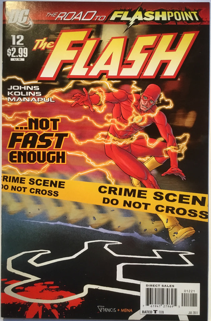 FLASH #12 (1:10 VARIANT) 2011 - Comics 'R' Us