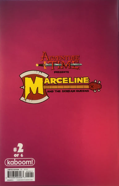 ADVENTURE TIME PRESENTS MARCELINE AND THE SCREAM QUEENS # 2 (1:15 VARIANT COVER) - Comics 'R' Us