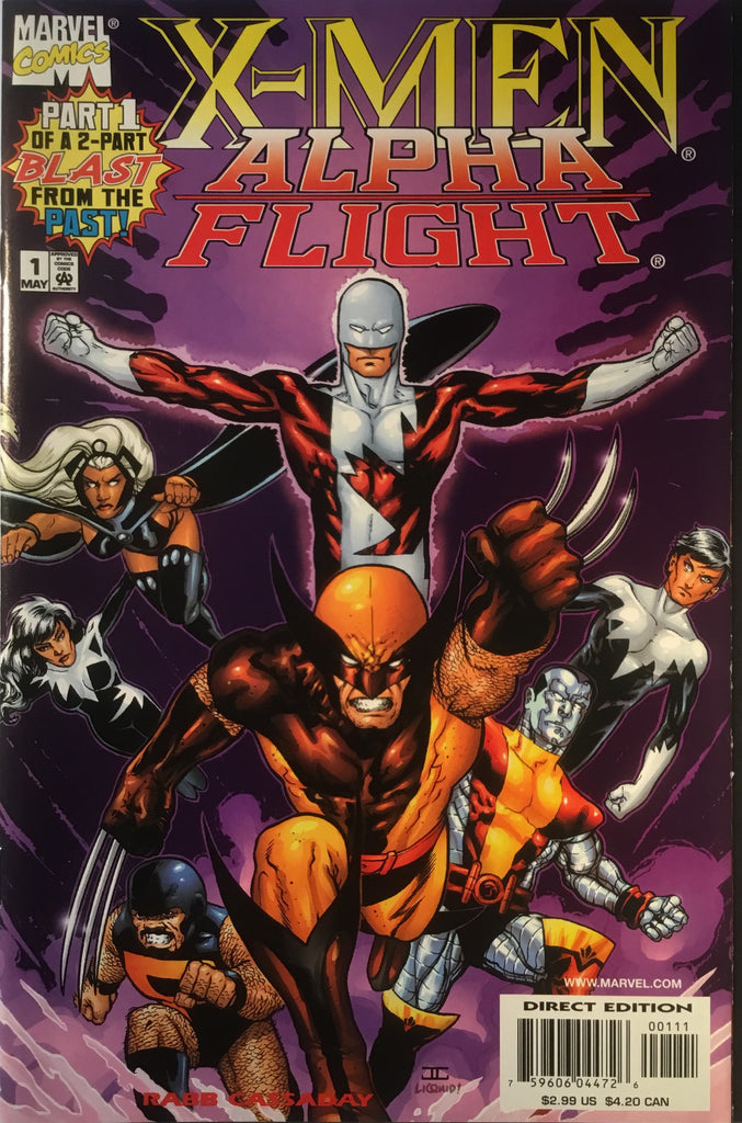 X-MEN / ALPHA FLIGHT # 1 & 2