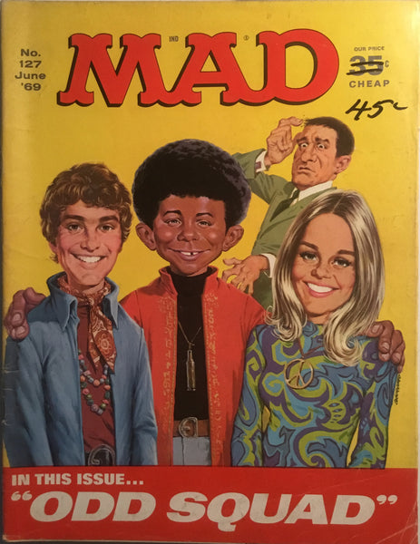 MAD MAGAZINE (USA) #127