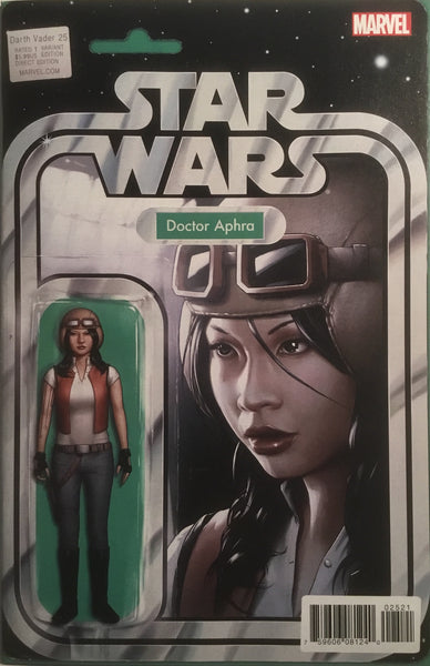 STAR WARS DARTH VADER #25 DOCTOR APHRA ACTION FIGURE VARIANT COVER