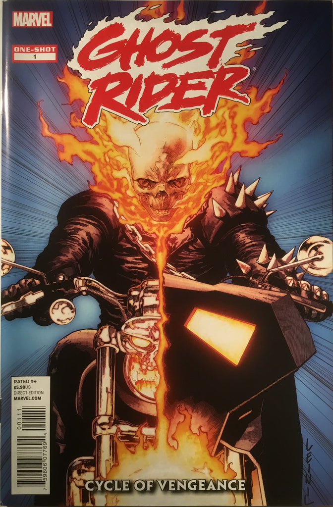 GHOST RIDER CYCLE OF VENGEANCE ONE-SHOT - Comics 'R' Us