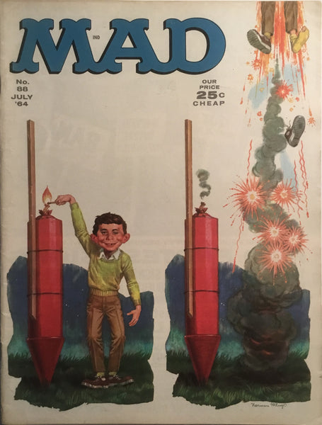 MAD MAGAZINE (USA) # 88