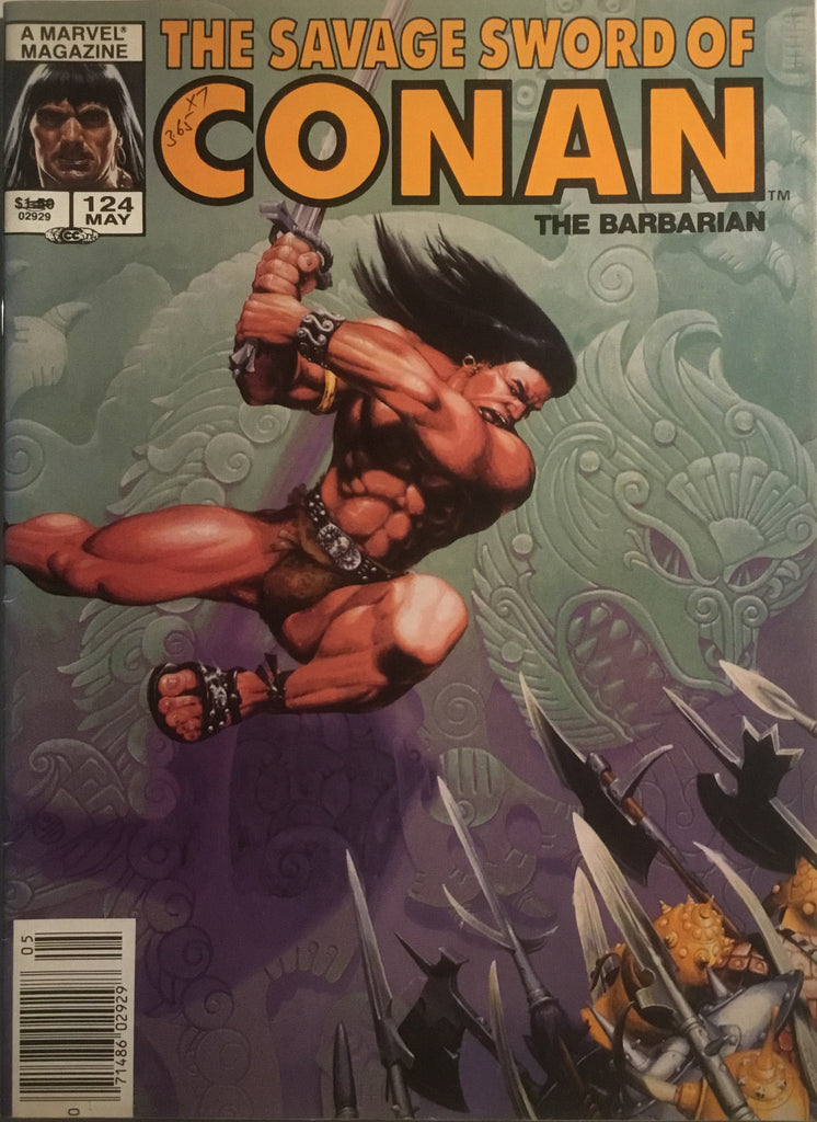 THE SAVAGE SWORD OF CONAN #124