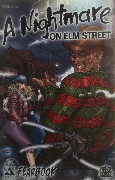 A NIGHTMARE ON ELM STREET FEARBOOK # 1 WRAP COVER - Comics 'R' Us