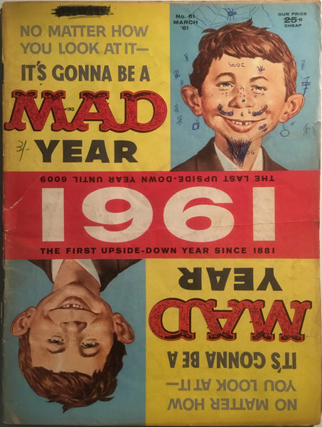 MAD MAGAZINE (USA) # 61