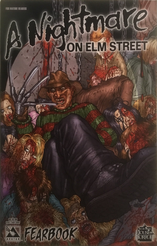 A NIGHTMARE ON ELM STREET FEARBOOK # 1 BODY COUNT COVER - Comics 'R' Us