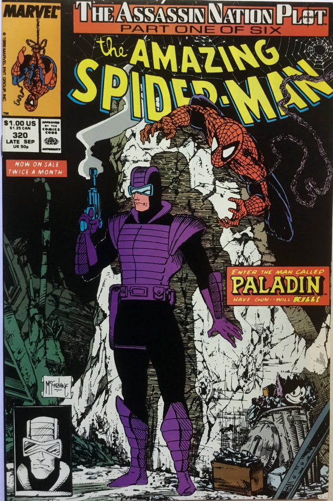 AMAZING SPIDER-MAN # 320 - Comics 'R' Us