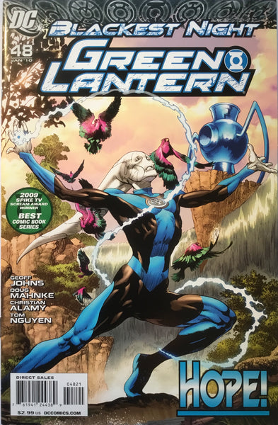 GREEN LANTERN # 48 (2005 SERIES) 1:25 VARIANT BLACKEST NIGHT - Comics 'R' Us