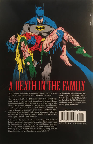BATMAN A DEATH IN THE FAMILY GRAPHIC NOVEL - Comics 'R' Us