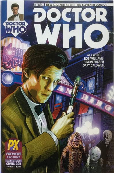 DOCTOR WHO THE 10TH & 11TH DOCTOR # 1 SAN DIEGO COMIC CON EXCLUSIVES x 2 - Comics 'R' Us