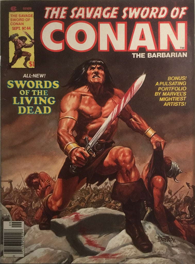 THE SAVAGE SWORD OF CONAN # 44