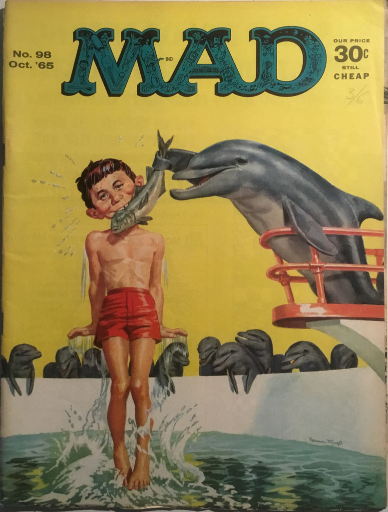 MAD MAGAZINE (USA) # 98