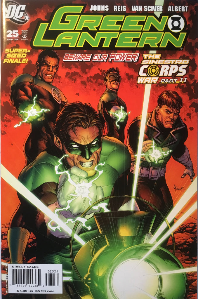 GREEN LANTERN # 25 (2005 SERIES) 1:10 VARIANT - Comics 'R' Us