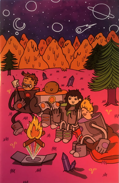 BRAVEST WARRIORS # 6 (1:20 VARIANT COVER)