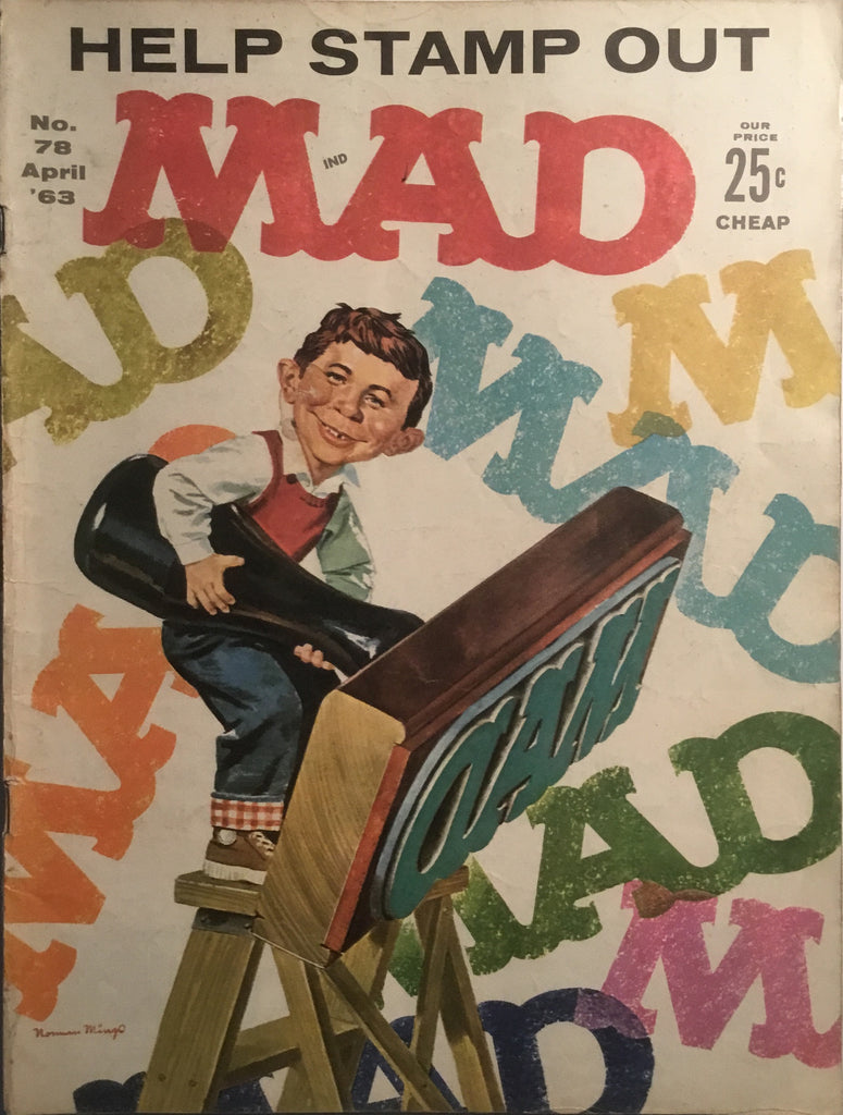MAD MAGAZINE (USA) # 78