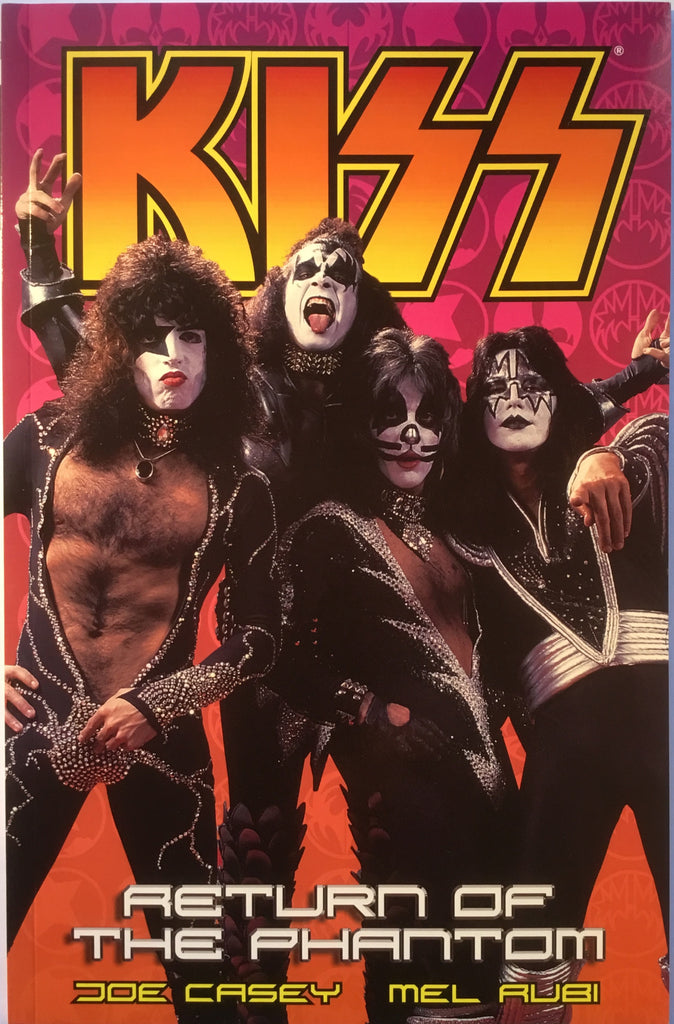 KISS VOL 2 RETURN OF THE PHANTOM GRAPHIC NOVEL