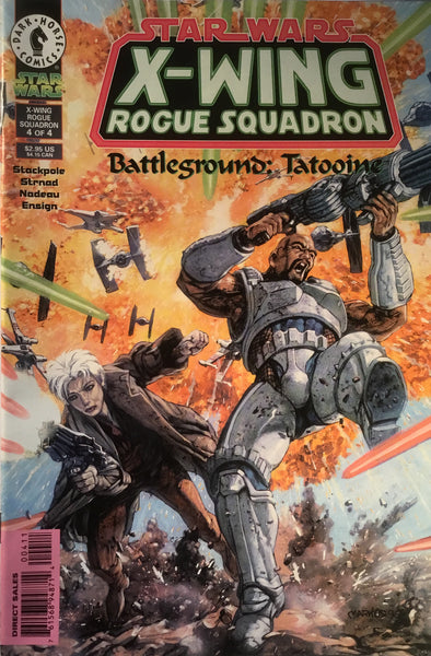 STAR WARS X-WING ROGUE SQUADRON : BATTLEGROUND TATOOINE # 4