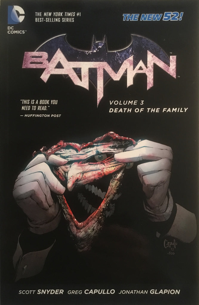 BATMAN (NEW 52) VOL 3 DEATH OF THE FAMILY GRAPHIC NOVEL - Comics 'R' Us