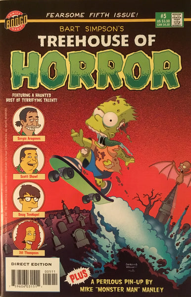 SIMPSONS TREEHOUSE OF HORROR # 5