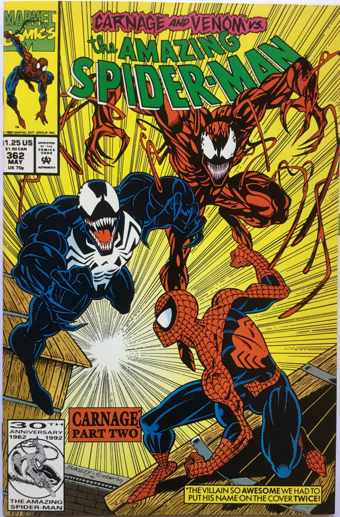 AMAZING SPIDER-MAN # 362 - Comics 'R' Us
