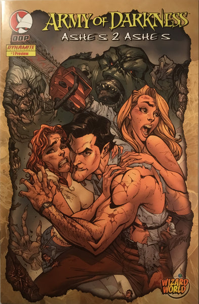 ARMY OF DARKNESS ASHES 2 ASHES # 1 WIZARD WORLD PREVIEW - Comics 'R' Us