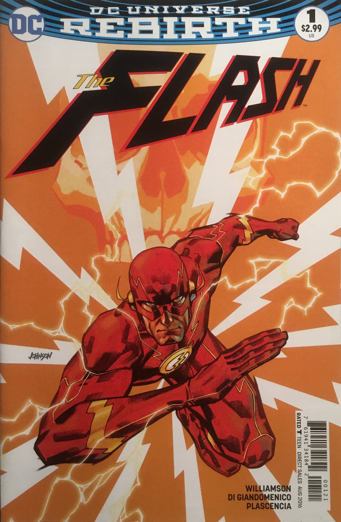 FLASH (REBIRTH) # 01 VARIANT COVER FIRST PRINTING