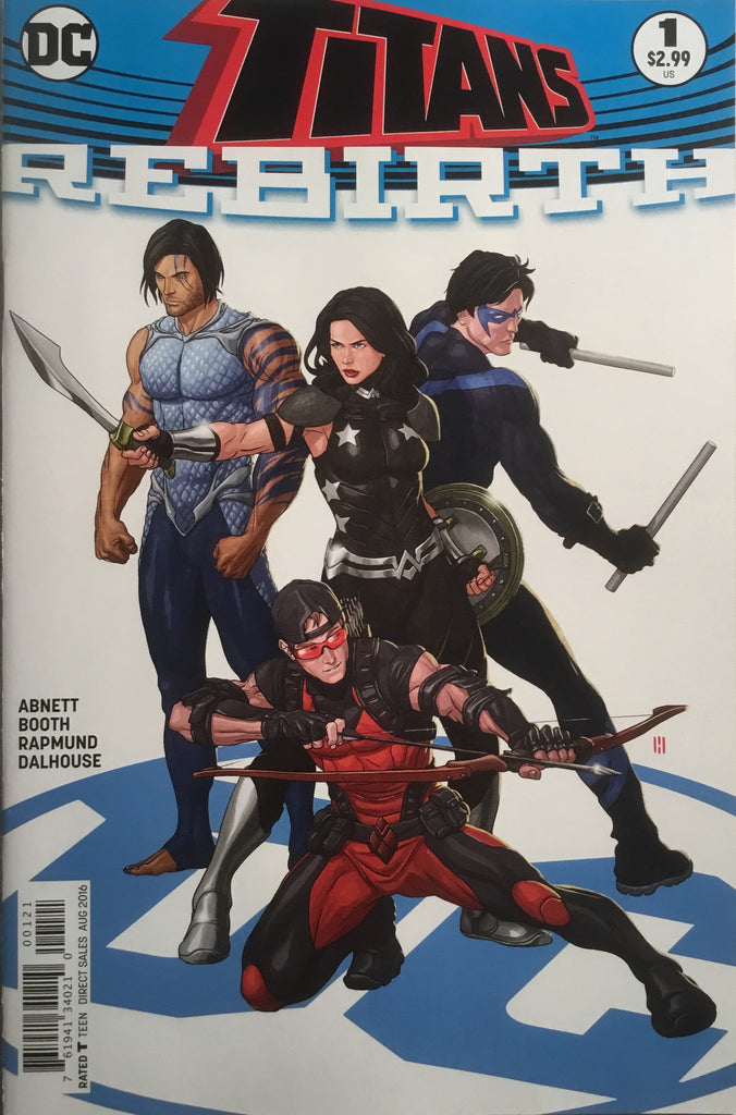 TITANS REBIRTH # 1 VARIANT COVER FIRST PRINTING