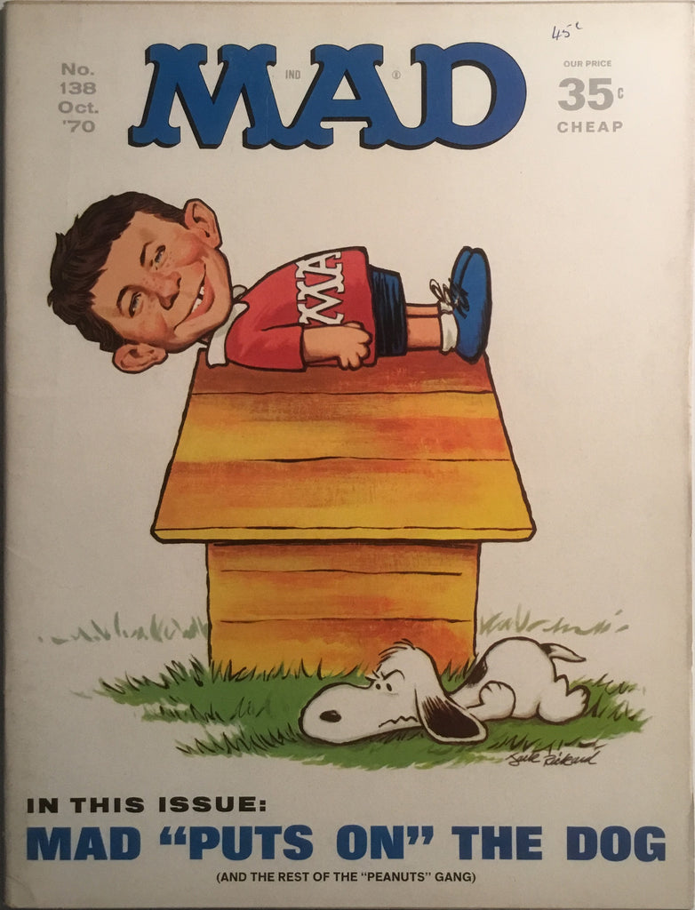 MAD MAGAZINE (USA) #138