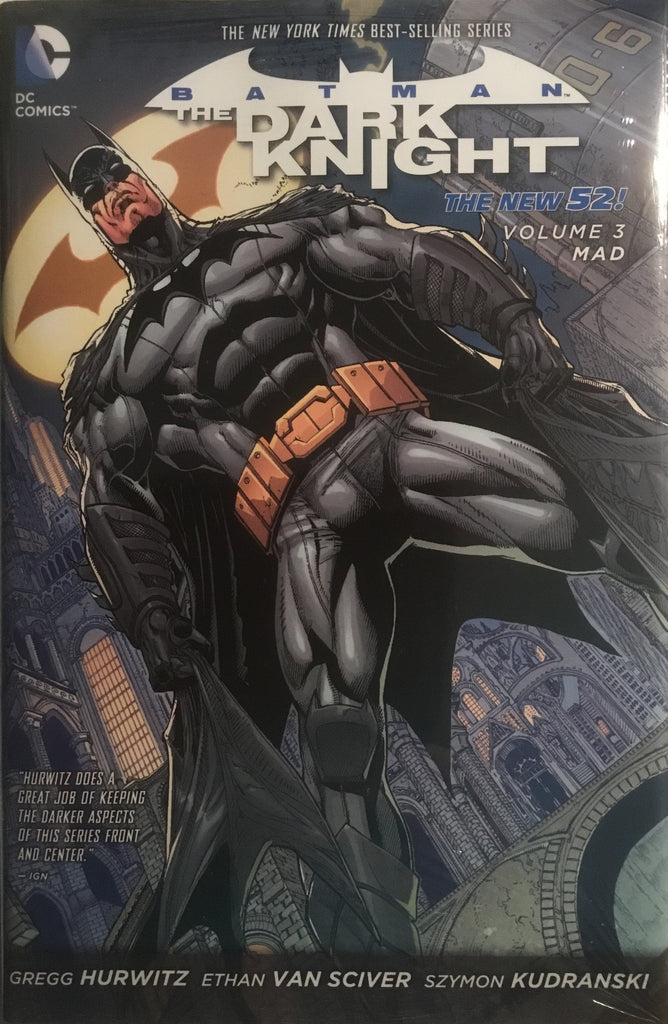 BATMAN THE DARK KNIGHT (NEW 52) VOL 3 MAD HARDCOVER GRAPHIC NOVEL