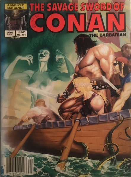 THE SAVAGE SWORD OF CONAN #101