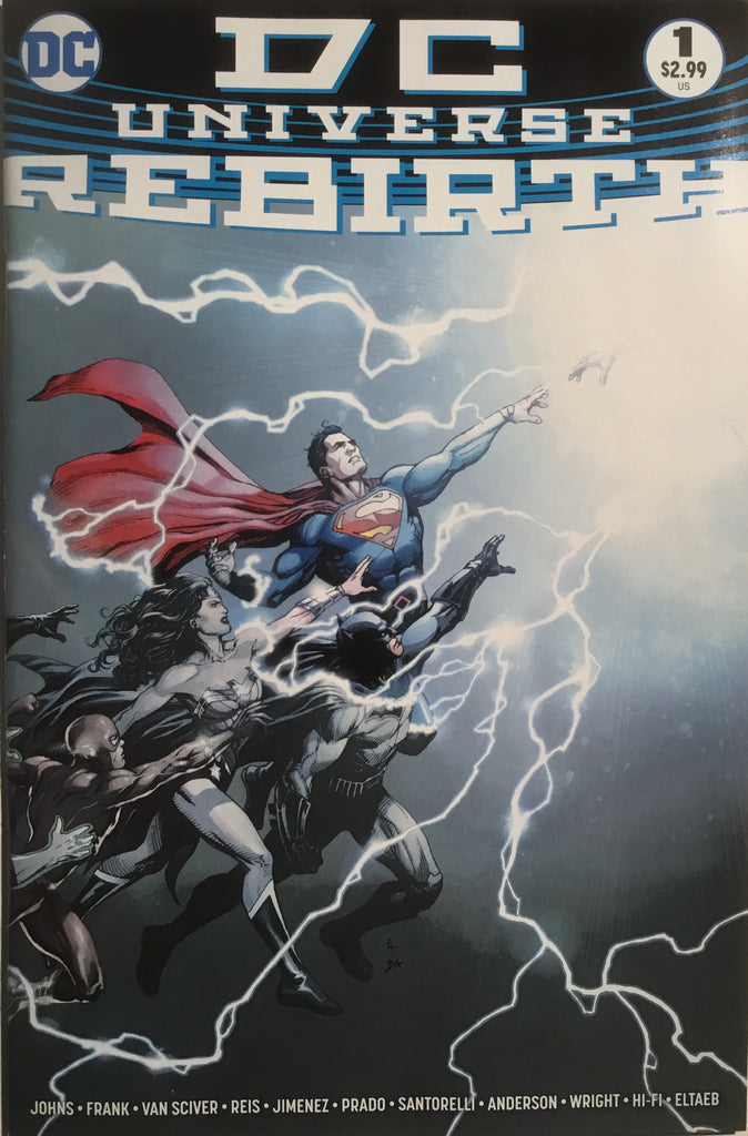 DC UNIVERSE REBIRTH # 1 FIRST PRINTING - Comics 'R' Us