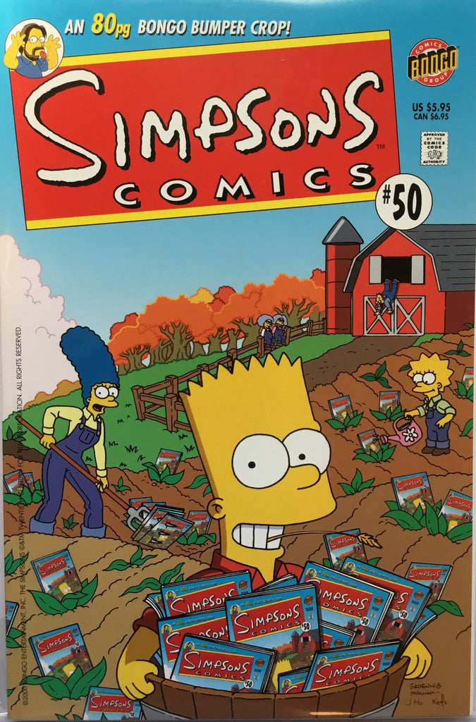 SIMPSONS COMICS # 50