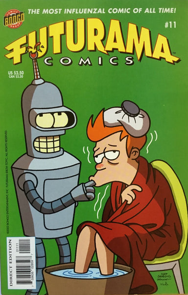 FUTURAMA COMICS #11 - Comics 'R' Us