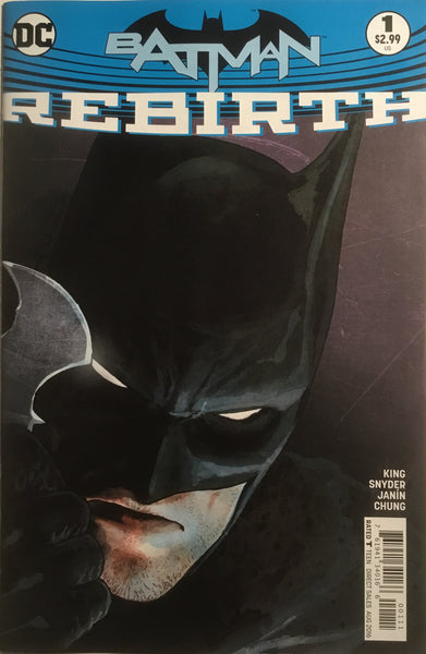 BATMAN REBIRTH # 1 FIRST PRINTING - Comics 'R' Us